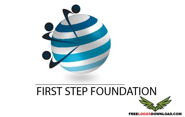 First Step Business Logo - Free Vector Logo Template